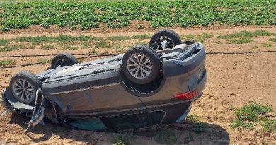 Εκτροπή αυτοκινήτου με ένα τραυματία  στην Μεσσήνη