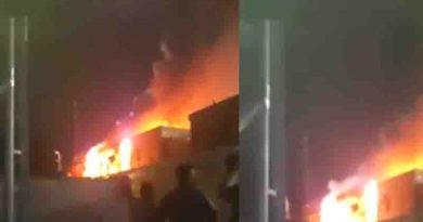 Νέα πυρκαγιά στο ΚΥΤ Σάμου  ΤΩΡΑ -Βίντεο