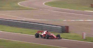 M Schumacher ξανά στην  F1 ντεμπούτου του Grand Prix Nurburgring δείτε δοκιμαστικά με Ferrari -Βίντεο