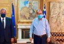 Εποικοδομητική συνάντηση του ΥπΑΑΤ, Μάκη Βορίδη με τον Περιφερειάρχη Πελοποννήσου, Παναγιώτη Νίκα