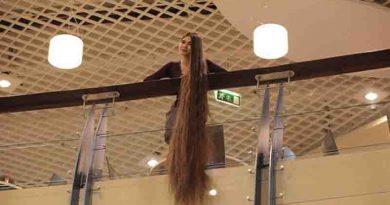 Μια σύγχρονη Ραπουνζέλ – 27χρονη με μαλλιά που έχουν μήκος 2,28 μέτρα Βίντεο
