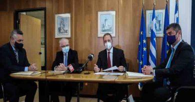 """Λιβανός: Αποφασιστικό άλμα προς το μέλλον η ψηφιοποίηση του ΕΛΓΑ- Κάνει ταχύτερη και ακριβέστερη την εκτίμηση ζημιών –  Υπεγράφη η Προγραμματική Σύμβαση μεταξύ ΕΛΓΑ και """"Κοινωνίας της Πληροφορίας ΑΕ"""""""