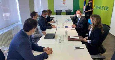 Την προώθηση ελληνικών αγροτικών προϊόντων και επενδύσεων στη Σερβία συζήτησαν ο ΥΠΑΑΤ, Σπ. Λιβανός με τον αναπληρωτή πρωθυπουργό και υπ. Γεωργίας, Μπ. Νεντέμοβιτς