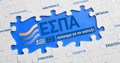 Την ερχόμενη Δευτέρα ενημέρωση σχετικά με το θέμα της ενίσχυσης των επιχειρήσεων στο πλαίσιο της δράσης 3.a.4
