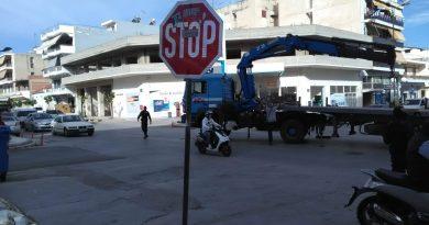 Κόρινθος :πρωτοφανές ατύχημα μέσα στην πόλη
