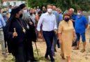 Ο Μητροπολίτης Μεσσηνίας στην επίσκεψη του Πρωθυπουργού στο Νομό
