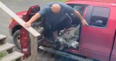 Kόκορας επιτίθεται σε Οδηγό Βίντεο