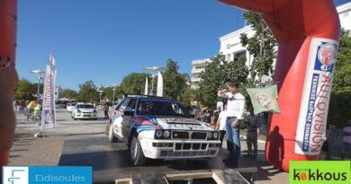 Πανηγυρική Εκκίνηση του 33ο Rally ΑΛΑ ΚΑΛΑΜΑΤΑΣ