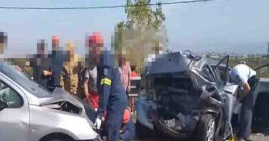 Σοβαρό δυστύχημα με μία νεκρή στην Κορίνθου – Πατρών- Βίντεο
