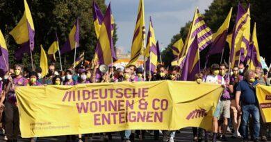 Γερμανία: Χιλιάδες διαδήλωσαν κατά της αύξησης των ενοικίων στο Βερολίνο