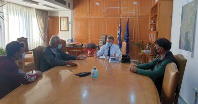 Συνάντηση  Αντιπεριφερειάρχη με το προεδρείο του Ελαιουργικού Συνετειρισμού Πεταλιδίου