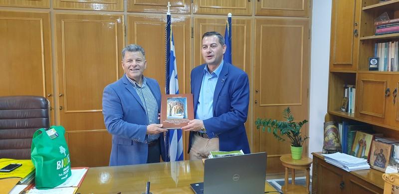 «Συνάντηση με τον Αντιπεριφερειάρχη Αγροτικής Ανάπτυξης, Περιφέρειας Δυτικής Ελλάδας»