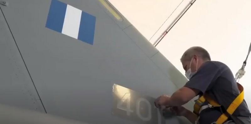 Τα ελληνικά Rafale F3R Βίντεο